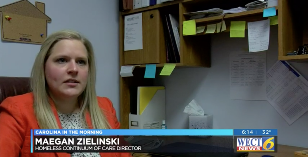WECT Interview with COC Director Maegan Zielinski