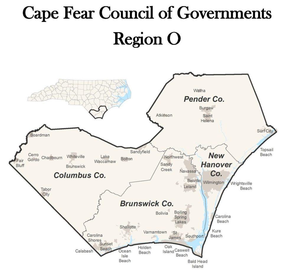 Region O Map